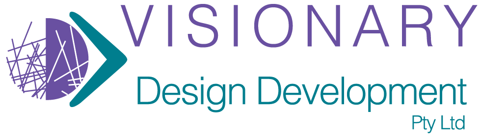 Logo for Visionary Design Development